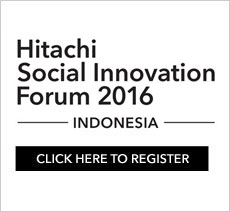 Hitachi Social Innovation Forum 2016 Indonesia. Click here to register